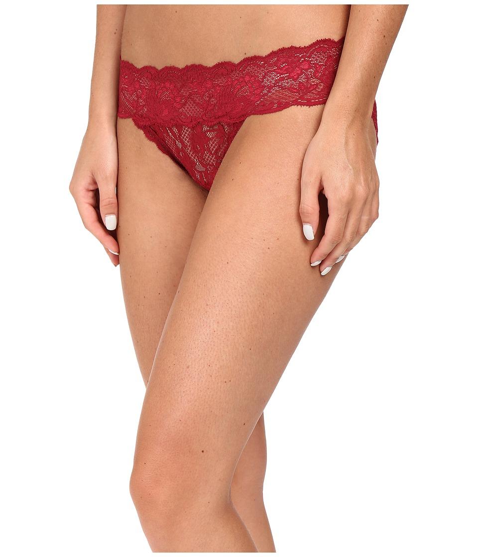 Cosabella - Never Say Never Tootsie Lowrider Bikini (Deep Ruby) Women's Underwear