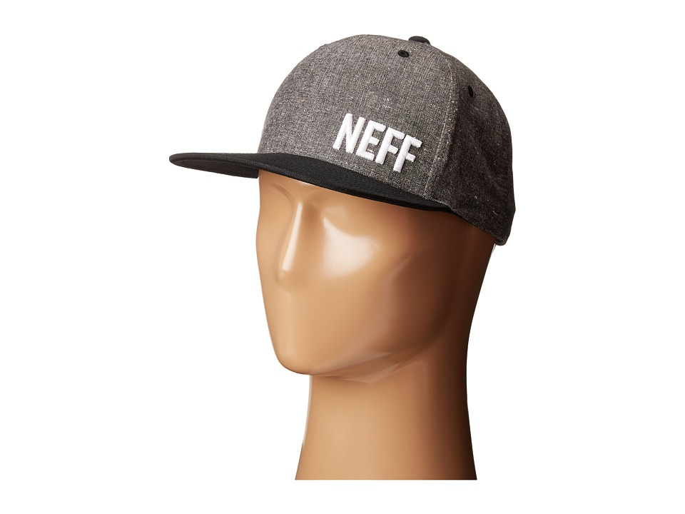 Neff - Daily Fabric Cap (Black) Caps