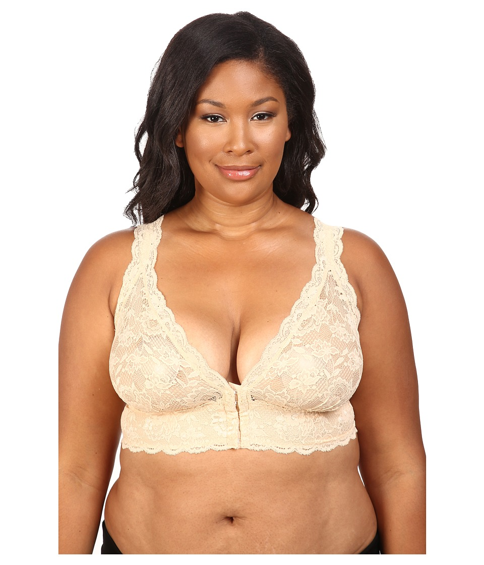 Cosabella - Plus Size Never Say Never Front Closure Bra NEVER1395P (Blush) Women's Bra