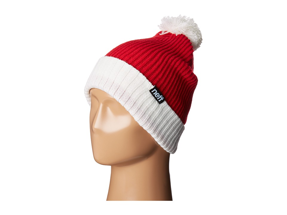 Neff - Feliz Navidad Beanie (Red) Beanies