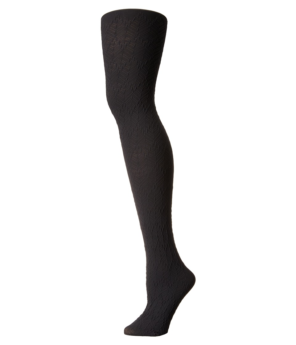 Falke - Herringbone Tights (Black) Hose