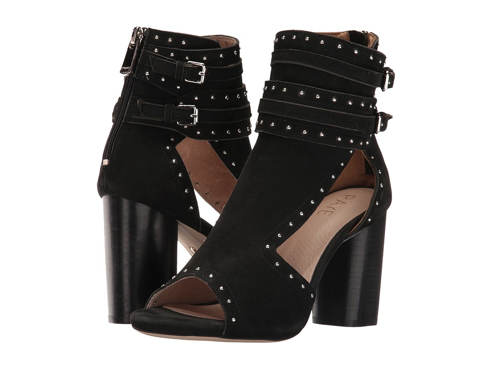 RAYE - Matty (Black) High Heels