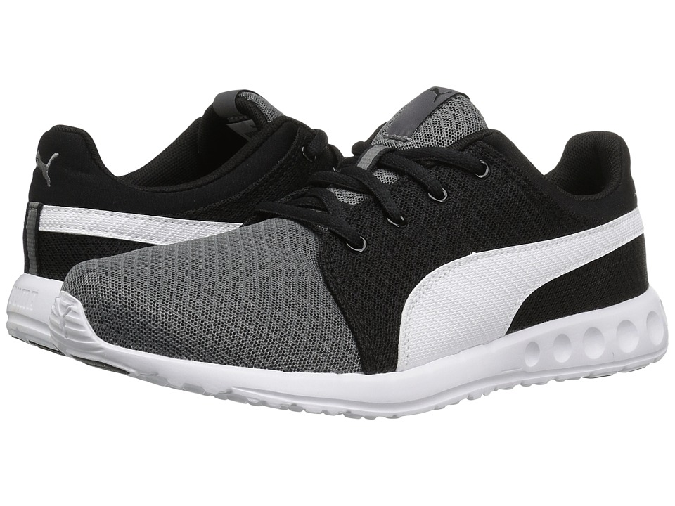Puma Kids - Carson Runner 400 Mesh Jr (Big Kid) (Steel Gray/Puma White) Boys Shoes