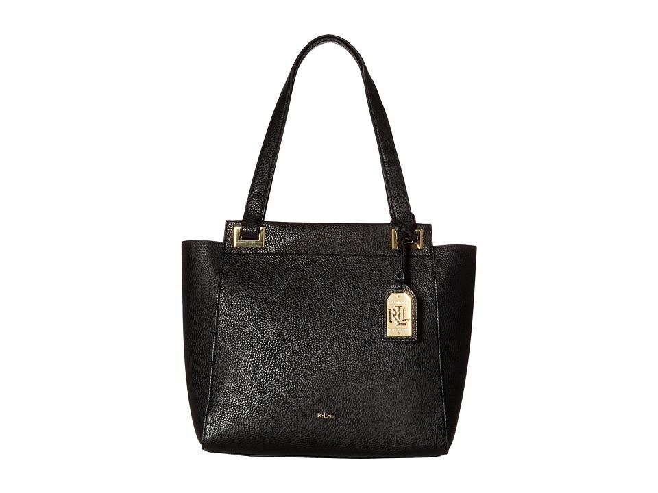 LAUREN Ralph Lauren - Carslisle Afton Shopper (Black) Handbags
