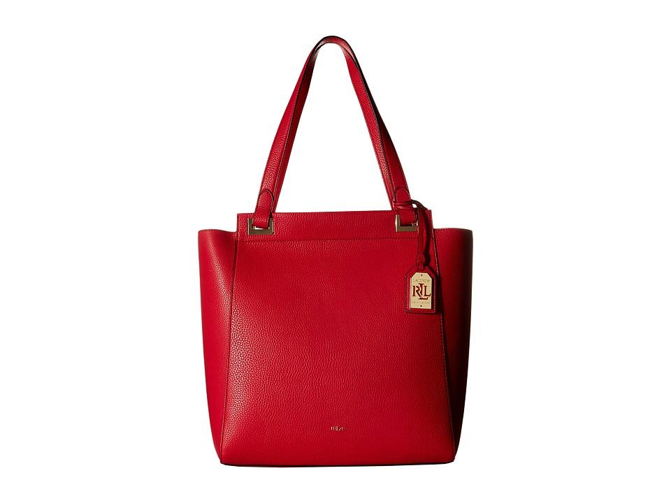 LAUREN Ralph Lauren - Carslisle Alissa Tote (Red) Tote Handbags