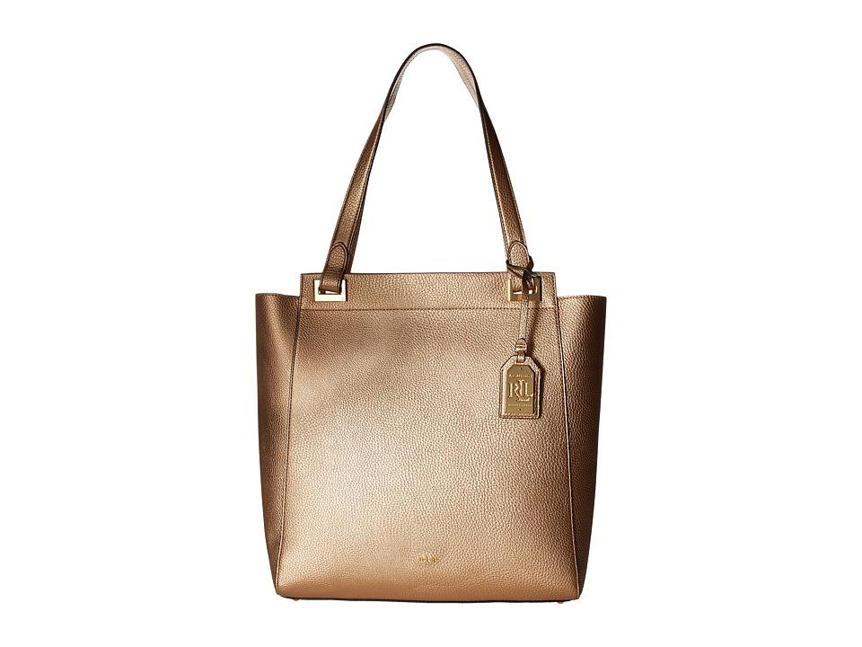 LAUREN Ralph Lauren - Carslisle Alissa Tote (Gold Leaf) Tote Handbags