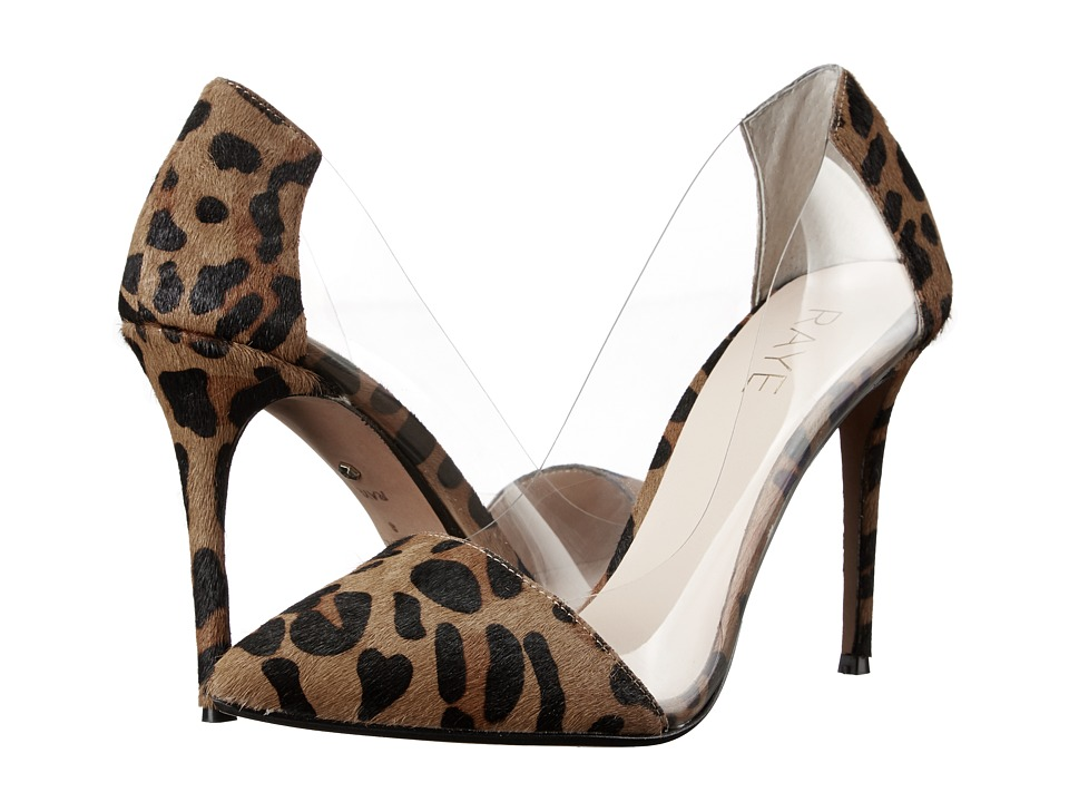 RAYE - Terry (Dark Tan Leopard) High Heels