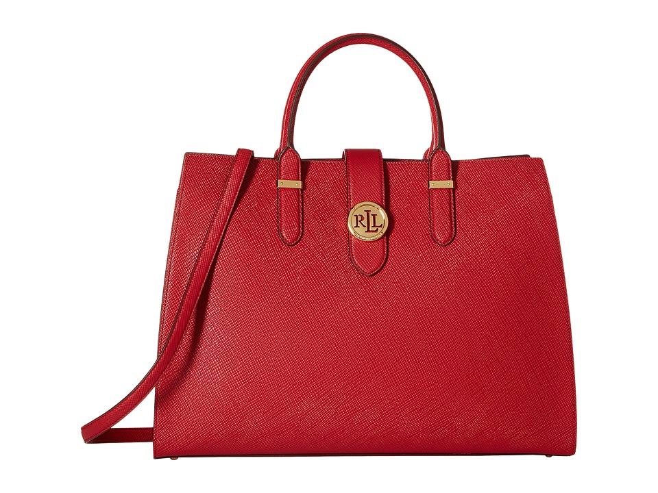 LAUREN Ralph Lauren - Charleston Tote (Crimson) Tote Handbags