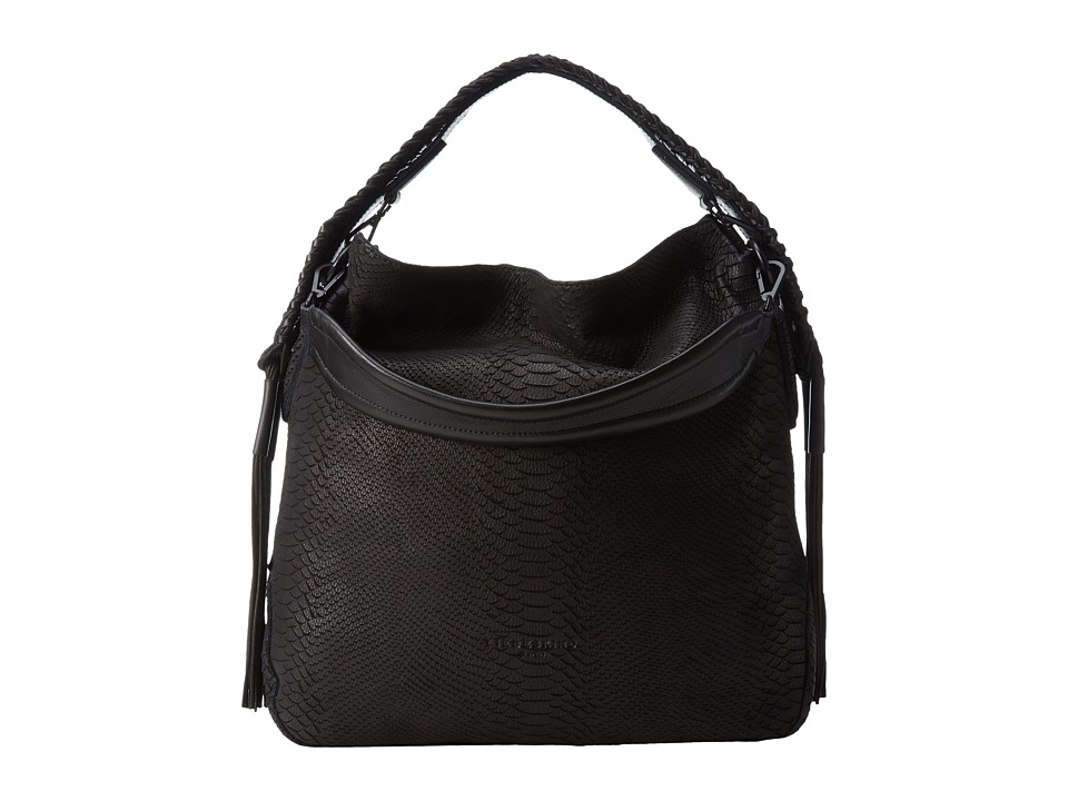 Liebeskind - Yokohama B (Ninja Black) Handbags