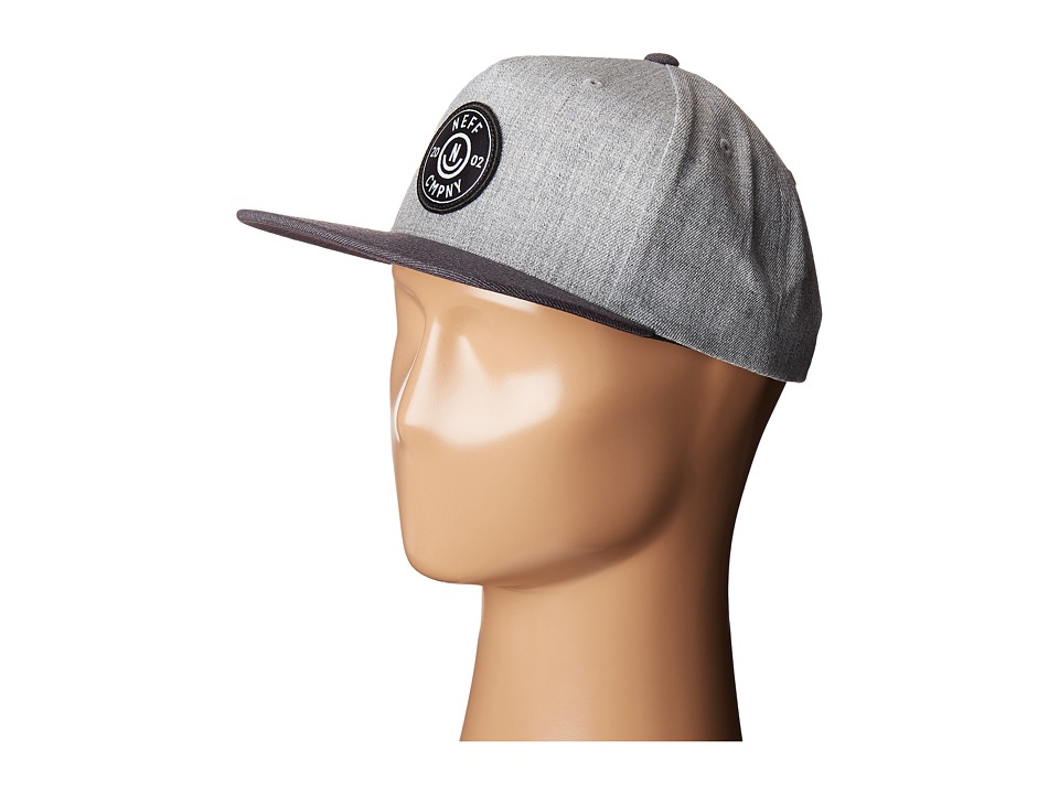 Neff - Wade Cap (Grey/Dark Grey) Caps