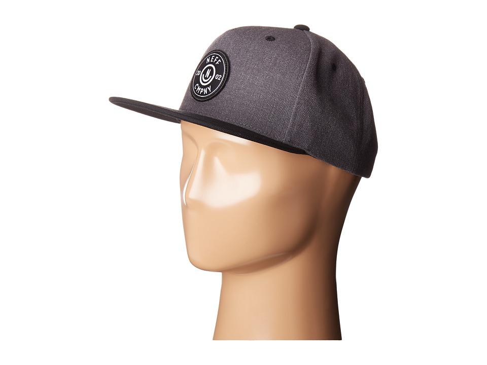 Neff - Wade Cap (Dark Grey/Black) Caps