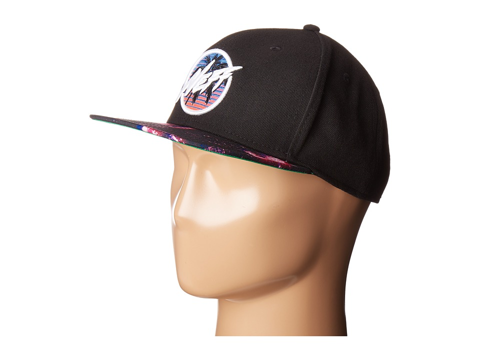 Neff - Neon City Cap (Black) Caps