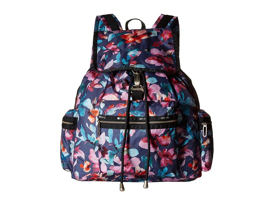 LeSportsac - 3-Zip Voyager (Aurora) Handbags
