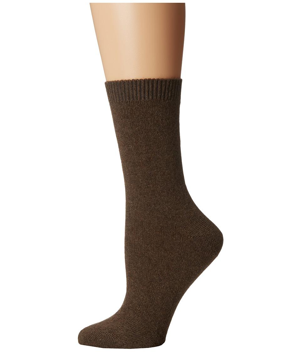 Falke - Cosy Wool Sock (Jasper) Women's Crew Cut Socks Shoes