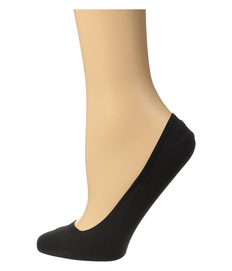 Falke - Cotton Touch Invisible Socks (Black) Women's Low Cut Socks Shoes