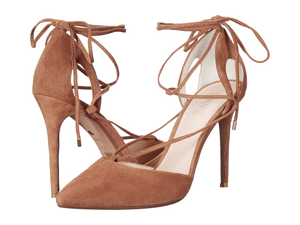 RAYE Tamrin (Dark Tan) High Heels