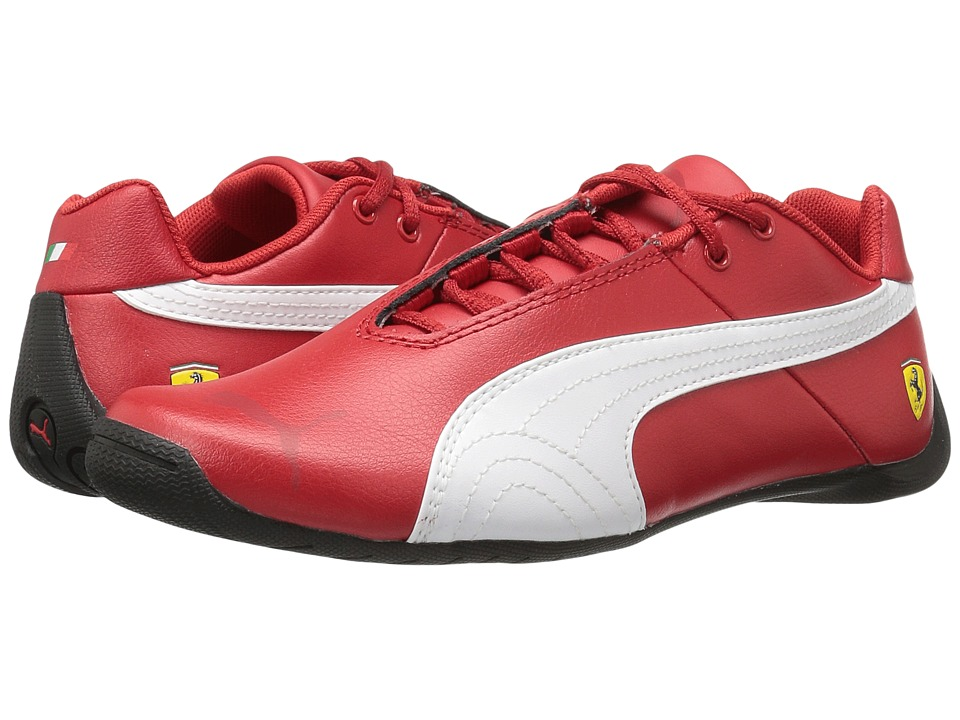 Puma Kids - Future Cat SF Jr (Big Kid) (Rosso Corsa/Rosso Corsa/Puma White) Boys Shoes