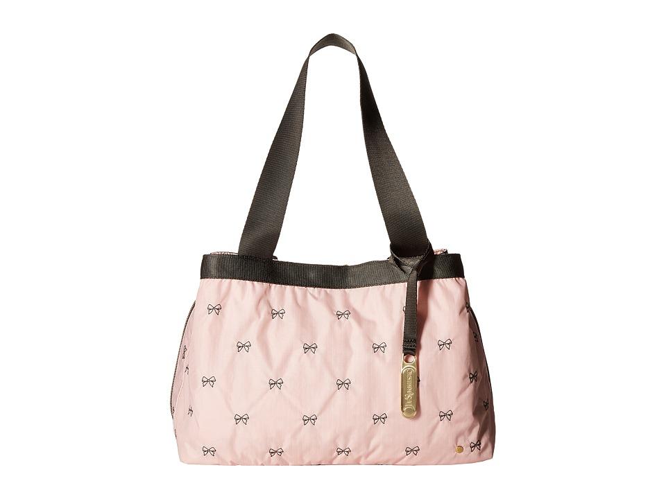 LeSportsac - Mercer Tote (Petite Bows Blossom) Tote Handbags