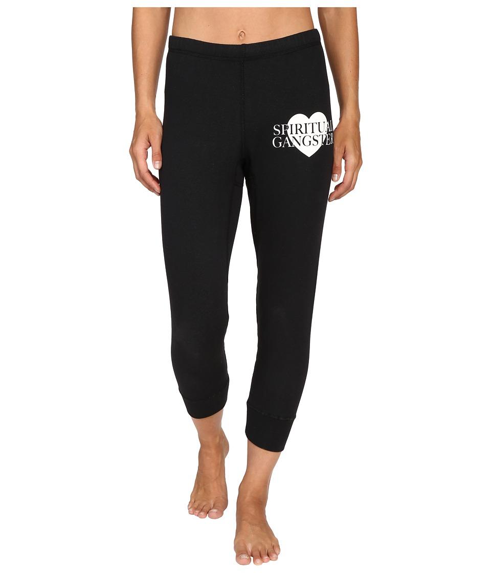 Spiritual Gangster - SG Love Mini Dharma Pants (Vintage Black) Women's Casual Pants