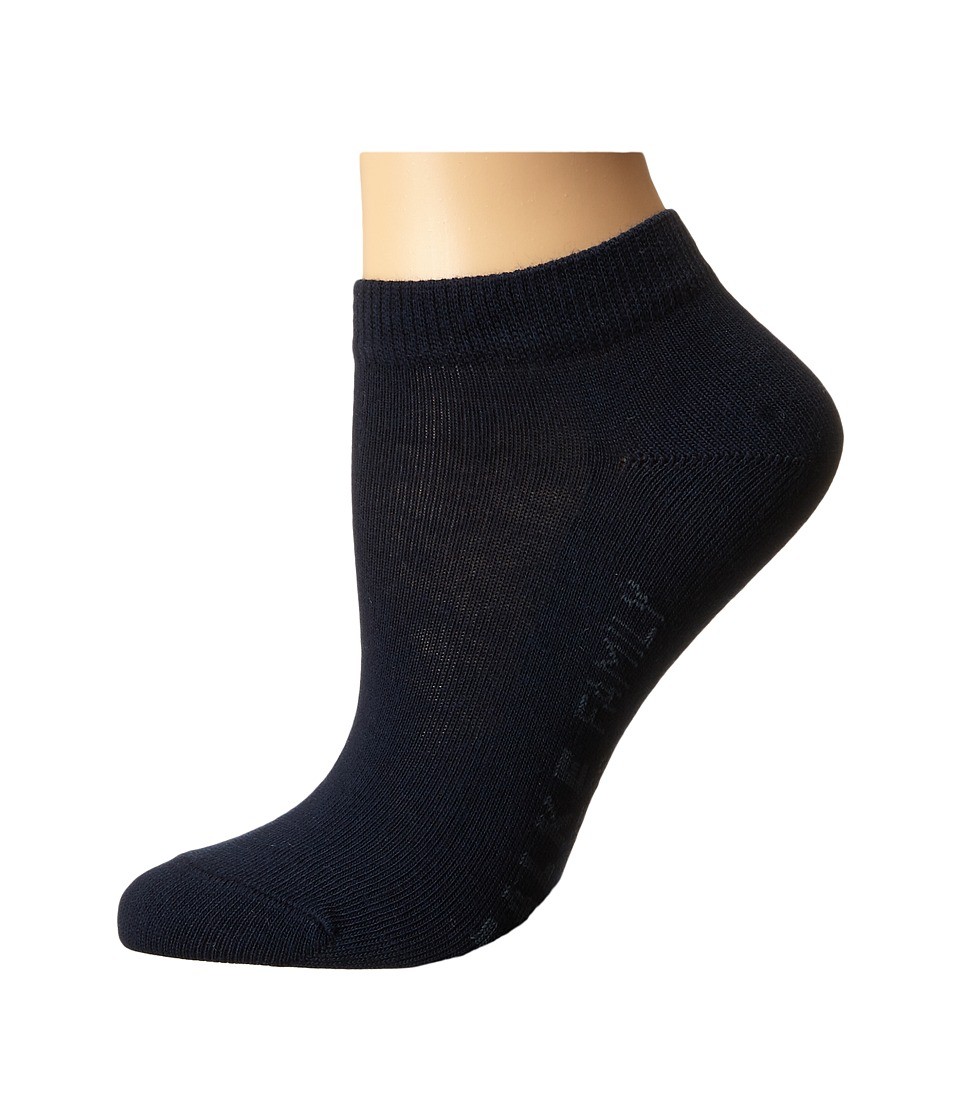 Falke - Family Short Sock (Marine) Women's Crew Cut Socks Shoes