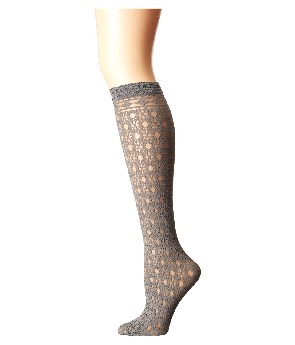 Falke - Trimming Knee High (Pyrite) Women's Knee High Socks Shoes