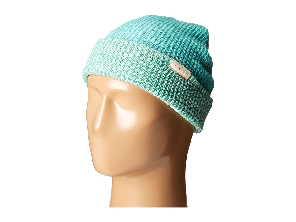 Neff - Duo Beanie (Teal Heather/Teal) Beanies