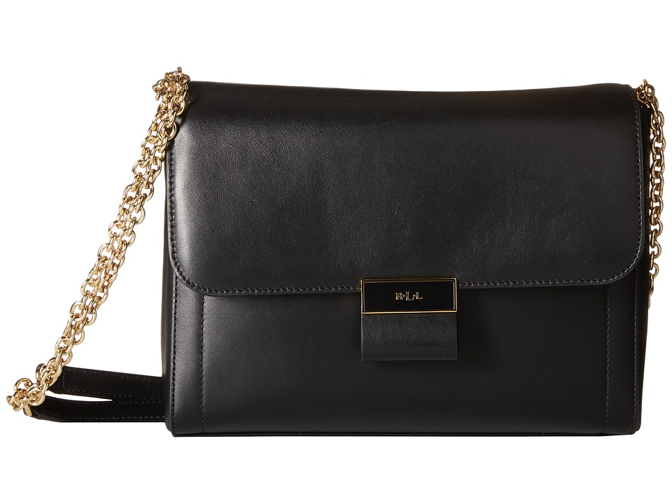 LAUREN Ralph Lauren - Lynwood Jude Shoulder Bag (Black) Shoulder Handbags