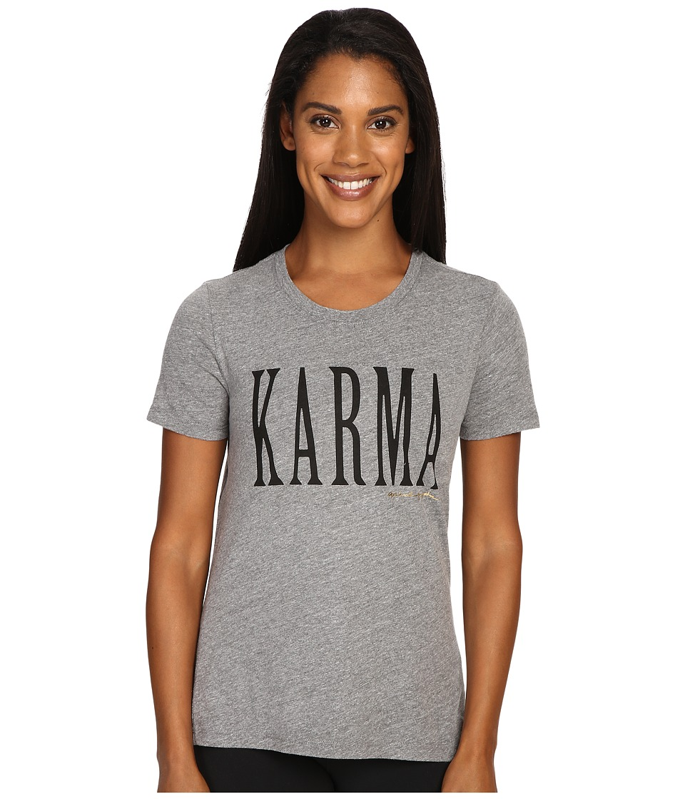 Spiritual Gangster - Karma (Heather Grey) Women's Workout