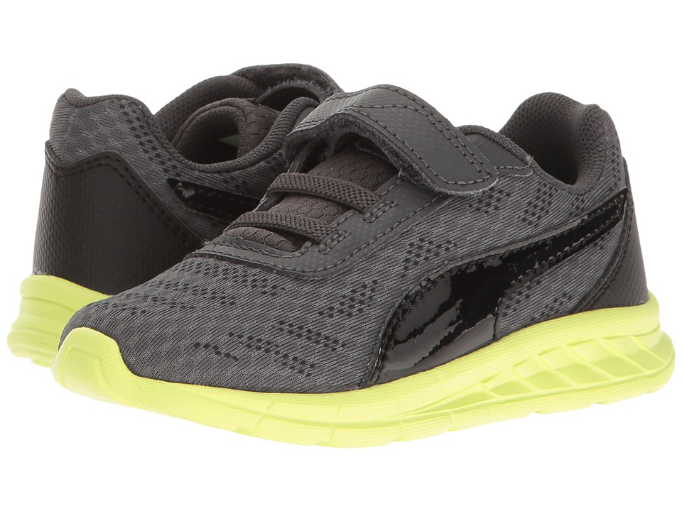 Puma Kids - Meteor V INF (Toddler) (Asphalt/Puma Black) Boys Shoes