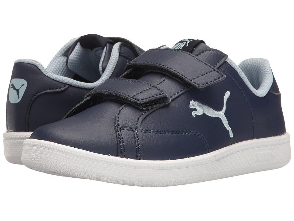Puma Kids - Smash Cat L V PS (Little Kid/Big Kid) (Peacoat/Blue Fog) Boys Shoes