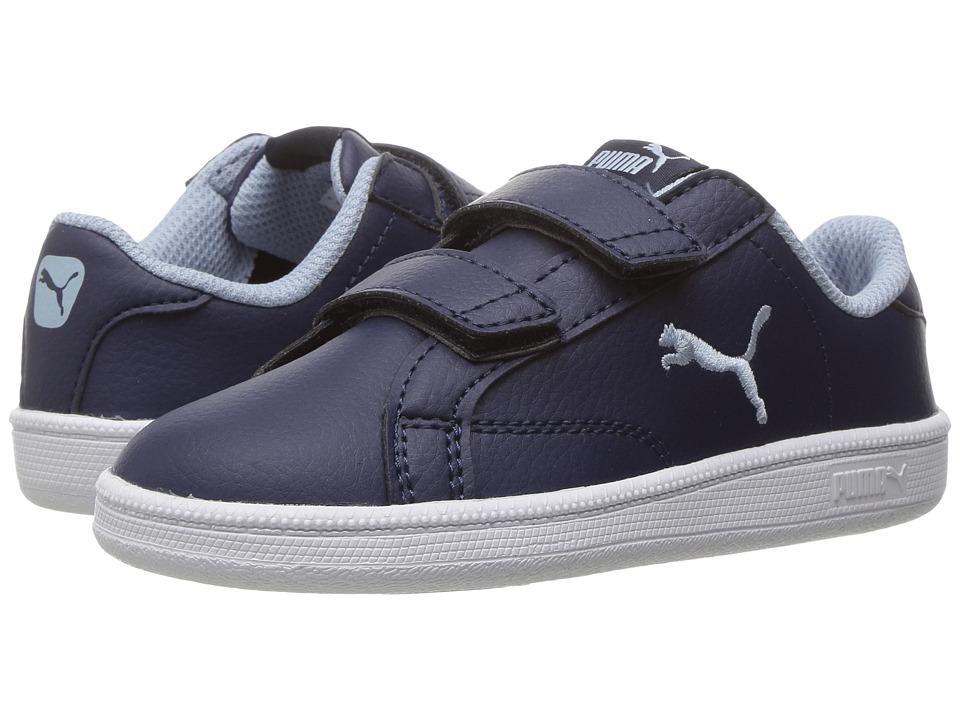 Puma Kids - Smash Cat L V INF (Toddler) (Peacoat/Blue Fog) Boys Shoes