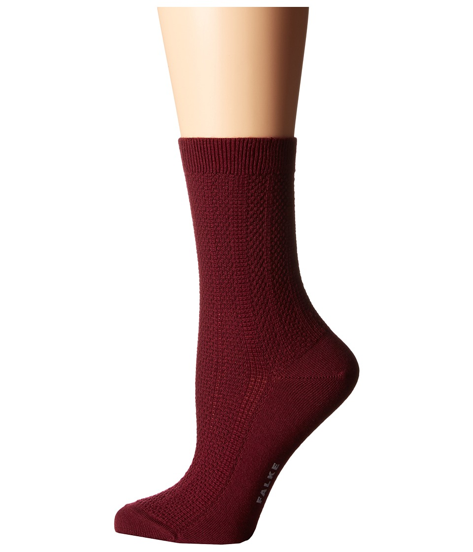 Falke - Amore Ankle (Garnet) Women's Crew Cut Socks Shoes