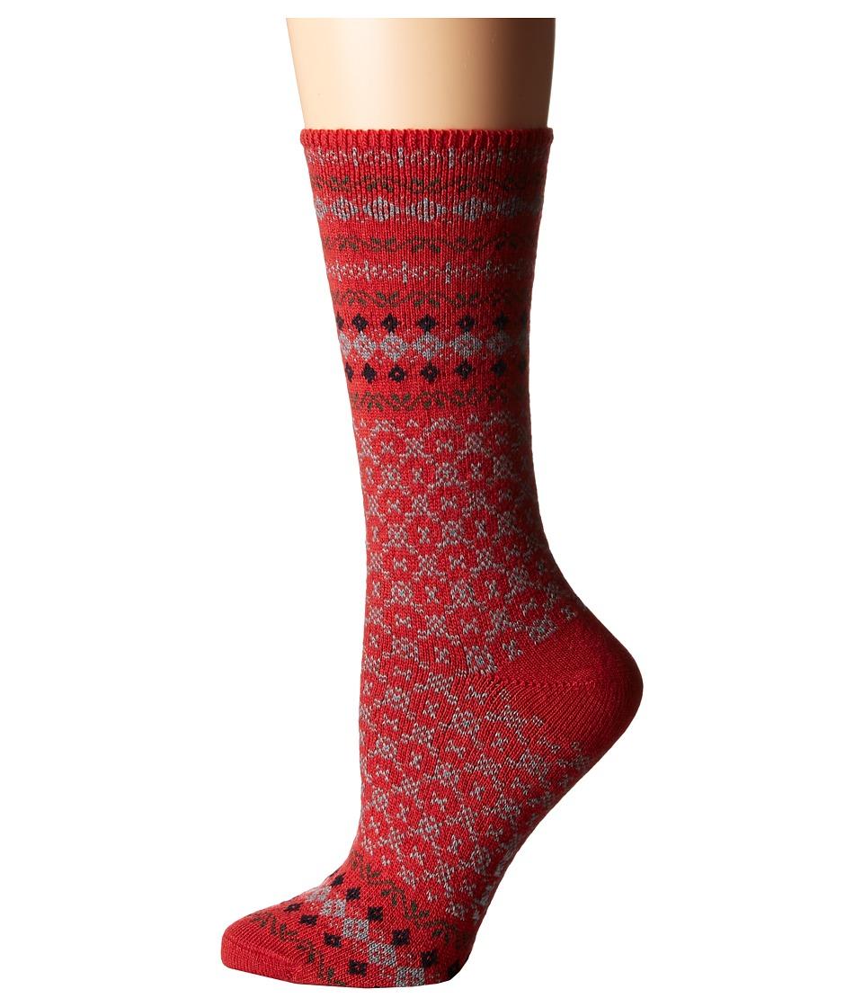 Falke - Norweigan Ankle (Ruby) Women's Crew Cut Socks Shoes