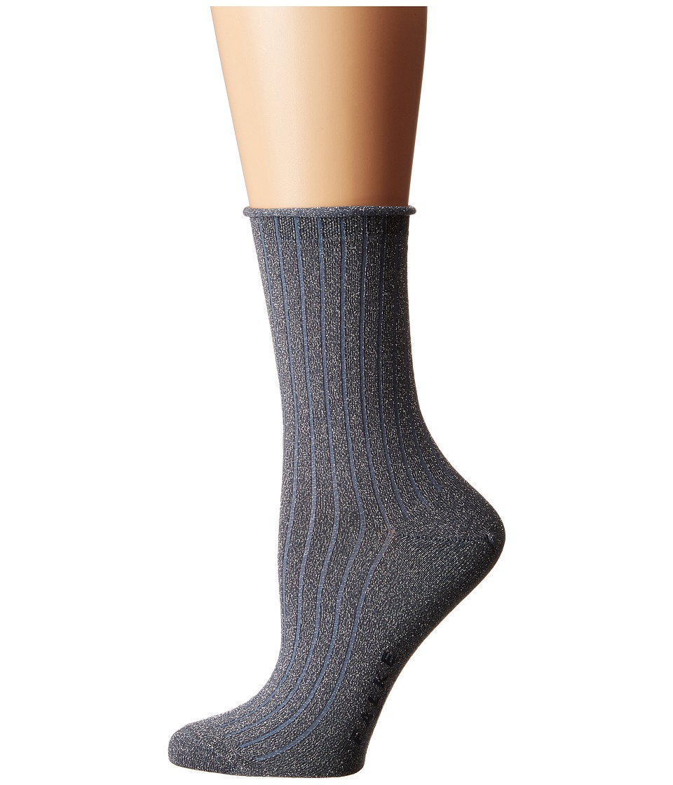 Falke - Free Time Ankle (Lapis) Women's Crew Cut Socks Shoes