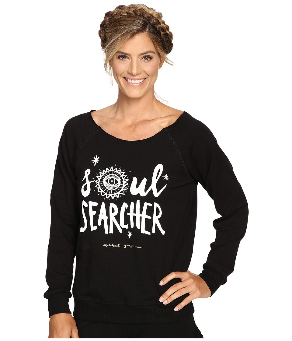 Spiritual Gangster - Soul Searcher Tribal (Black) Women's Workout
