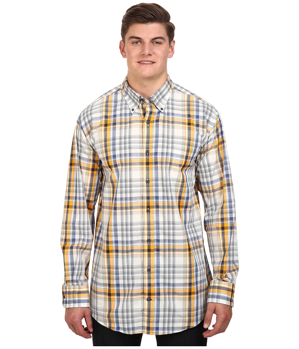 Nautica Big & Tall - Big Tall M63131-Plaid (White Cap) Men's Clothing