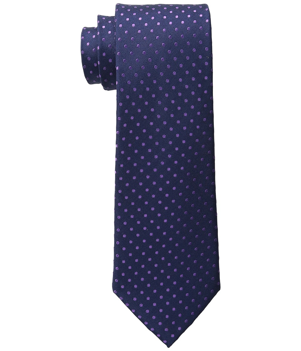 Tommy Hilfiger - Oxford Dot (Navy) Ties