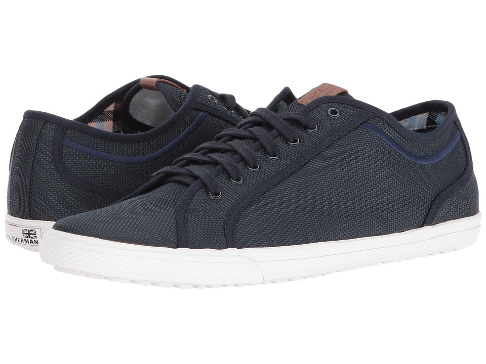 Ben Sherman - Chandler Lo (Blue Steel) Men's Lace up casual Shoes