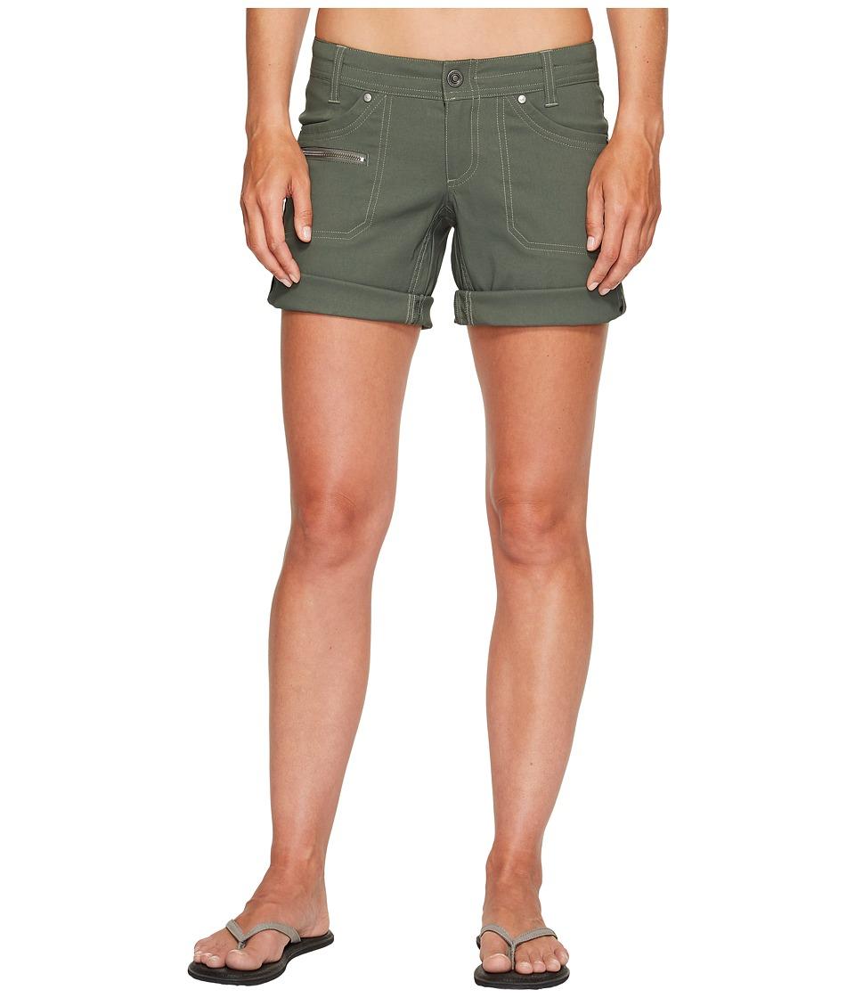 KUHL - Kliffside Air Roll-Up Shorts (Sage) Women's Shorts