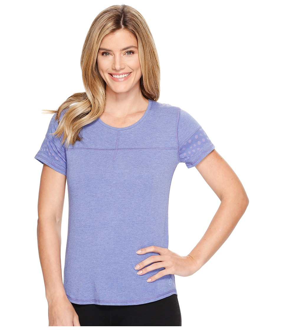 tasc Performance - Sprinter Tee (Purple Rain) Women's Short Sleeve Pullover