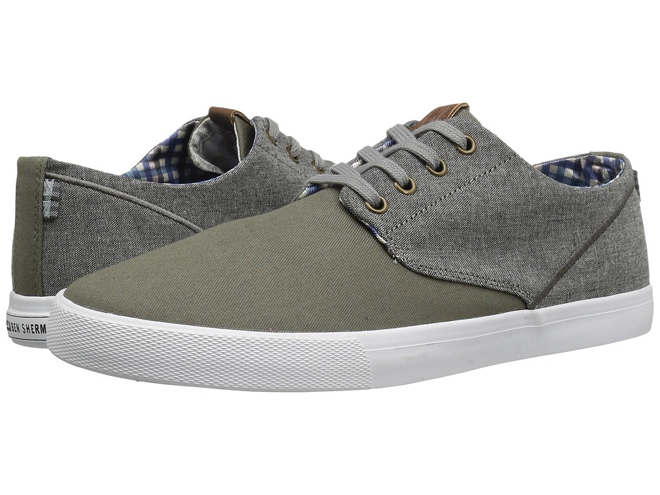 Ben Sherman - Rhett (Olive) Men's Lace up casual Shoes