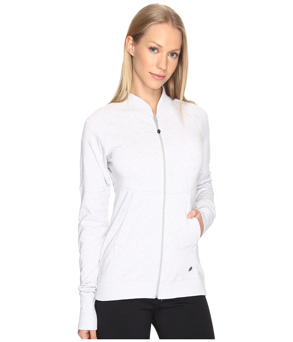 tasc Performance - City Park Jacket (Light Heather Gray) Women's Coat