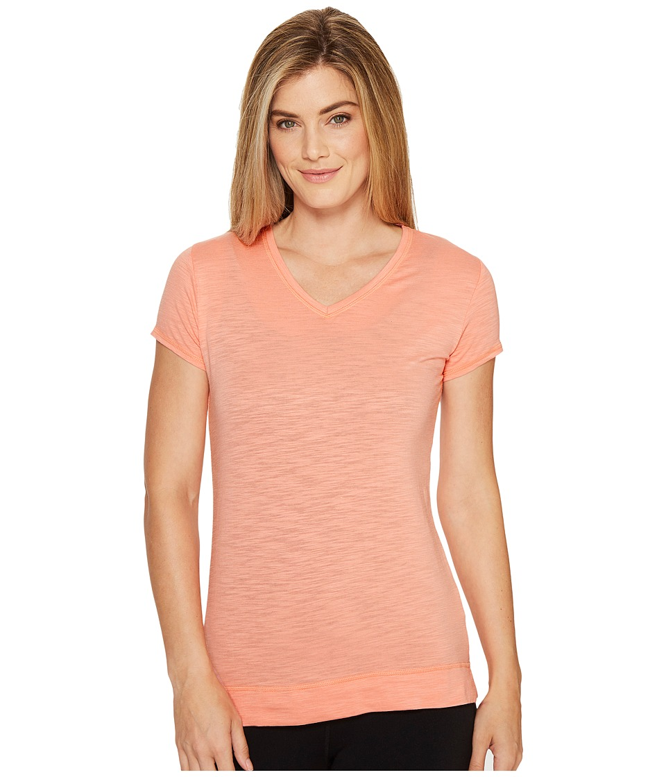 tasc Performance - Streets V Top (Pink Sky Slubbed) Women's Clothing