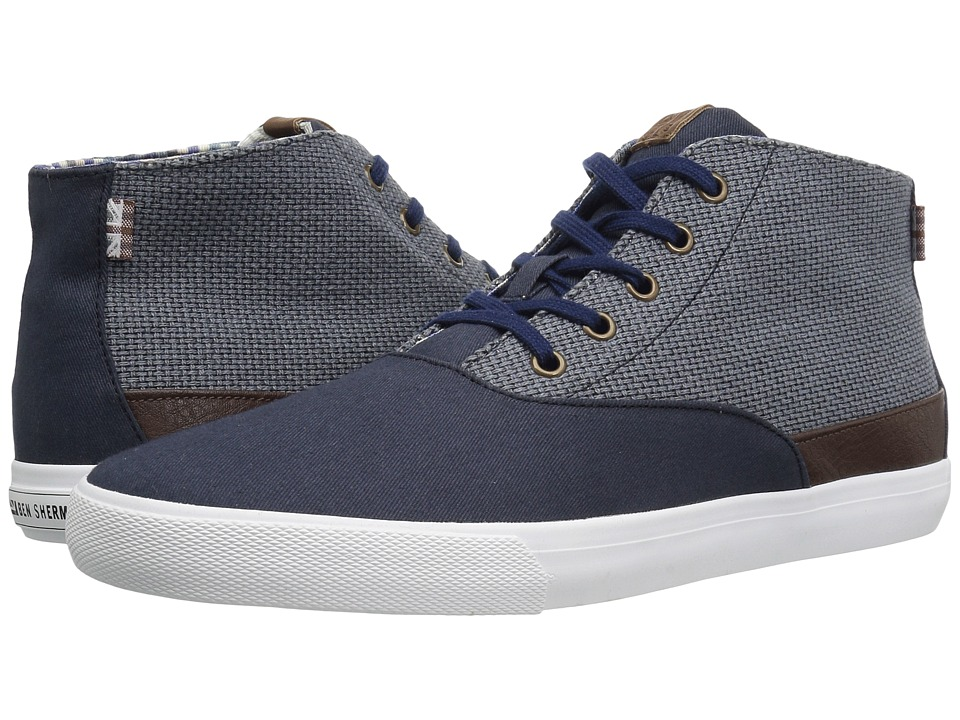Ben Sherman - Pete Hi (Navy) Men's Lace up casual Shoes
