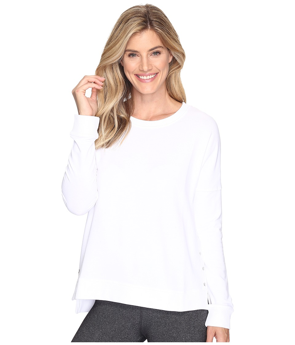 tasc Performance - Riverwalk Sweatshirt (White) Women's Sweatshirt