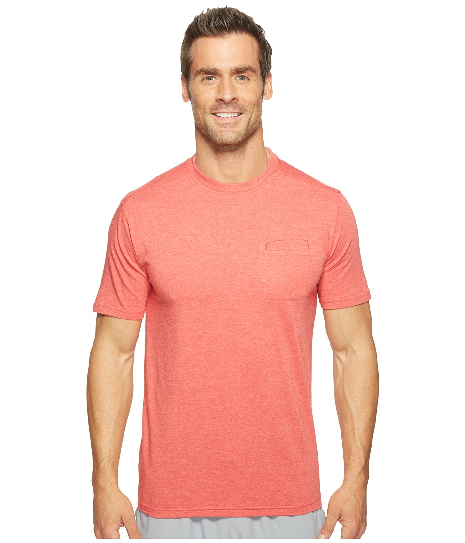 tasc Performance - Scout Pocket Tee (Red Heather) Men's T Shirt