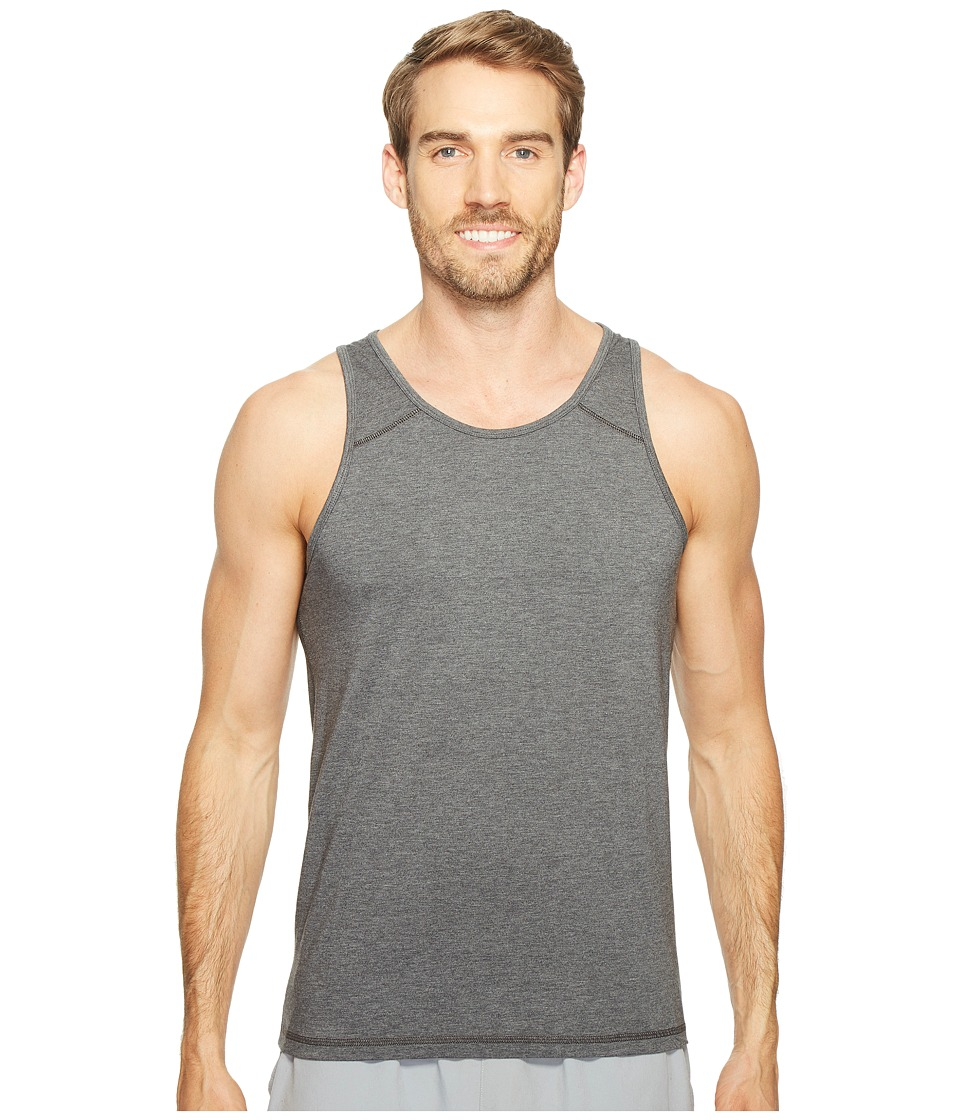 tasc Performance Vital Tank Top (Black Heather) Men