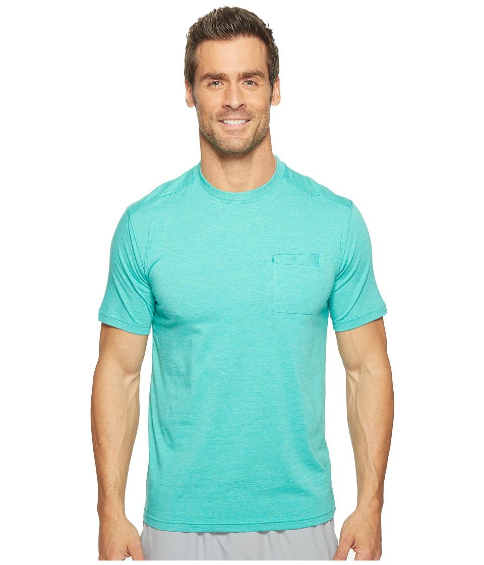 tasc Performance - Scout Pocket Tee (Maldives Heather) Men's T Shirt