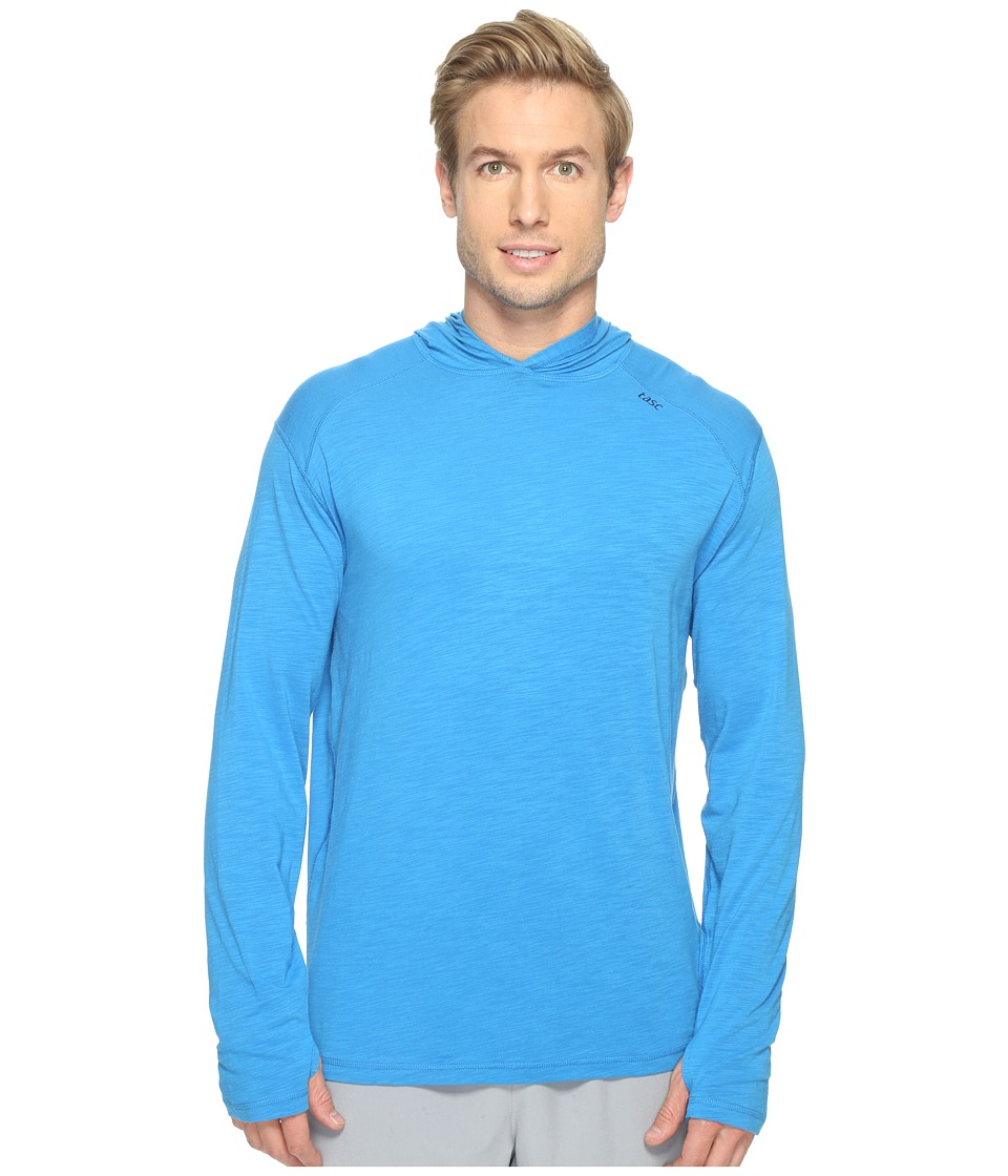 tasc Performance - Coastline Hoodie (Ultra Blue Slubbed) Men's Sweatshirt
