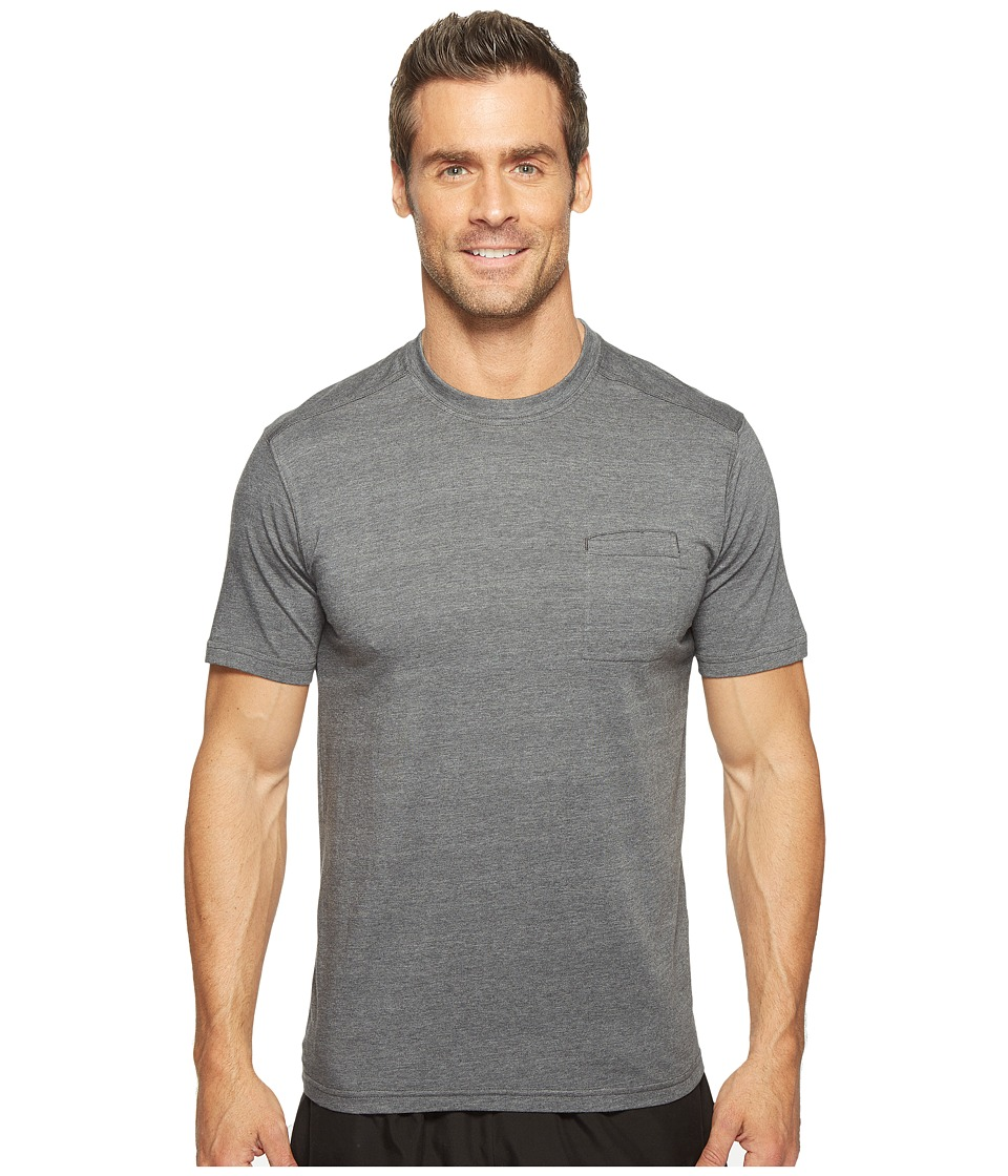 tasc Performance - Scout Pocket Tee (Black Heather) Men's T Shirt